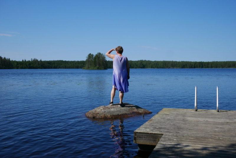 Vallanjärven uimaranta